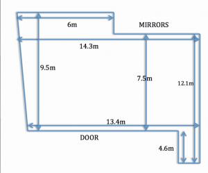 Studio45 London - Floor Plan